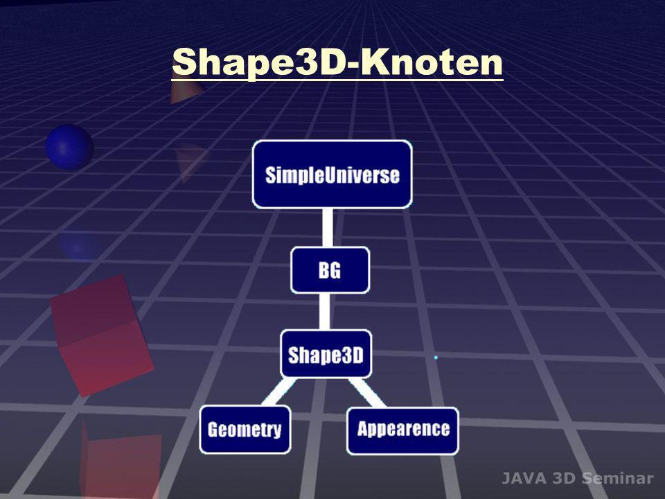 Shape3D-Knoten