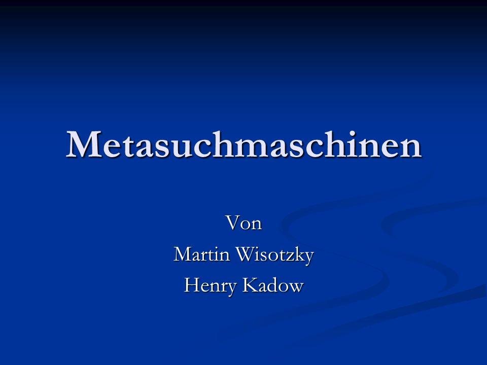 Von Martin Wisotzky Henry Kadow