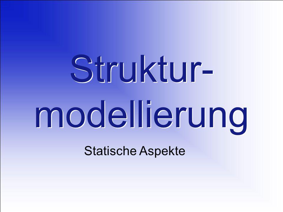Struktur- modellierung