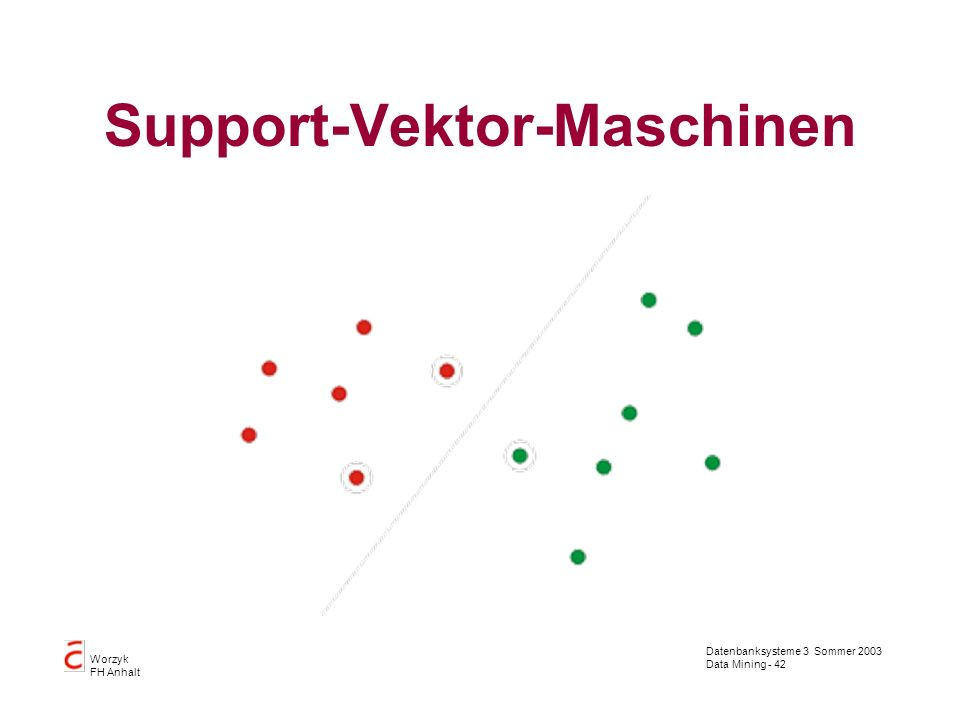 Support-Vektor-Maschinen