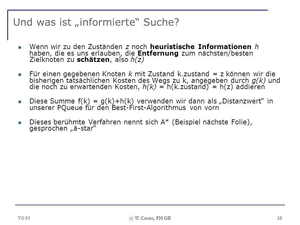 """Und was ist """"informierte Suche"""