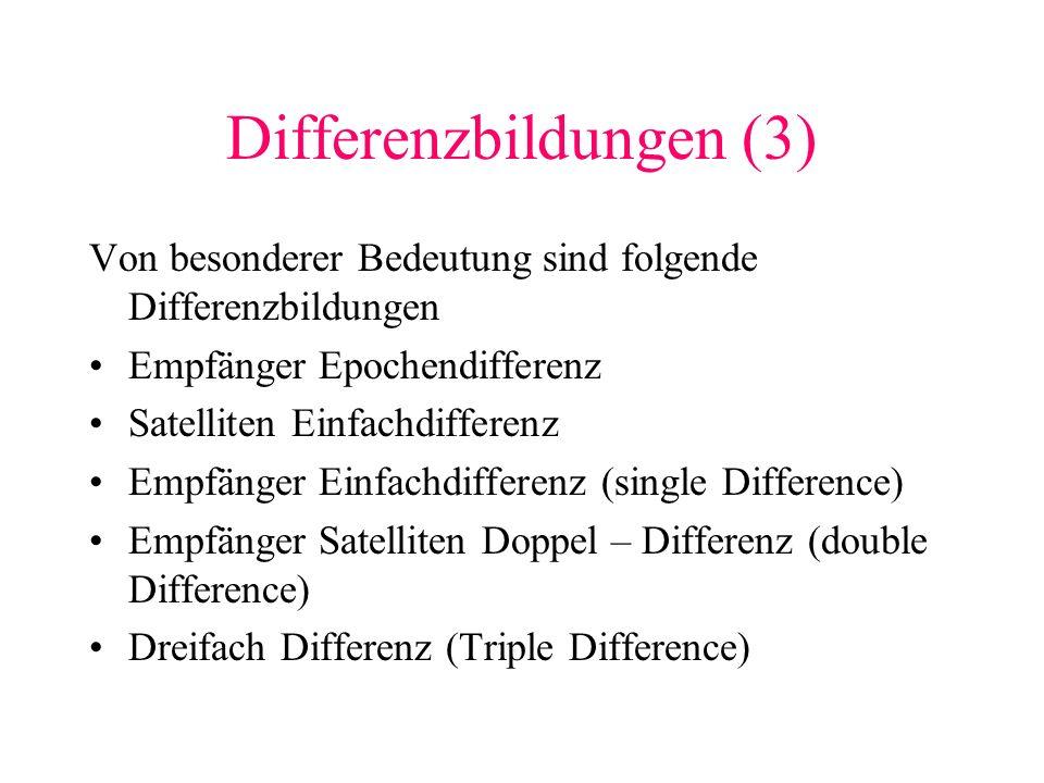 Differenzbildungen (3)