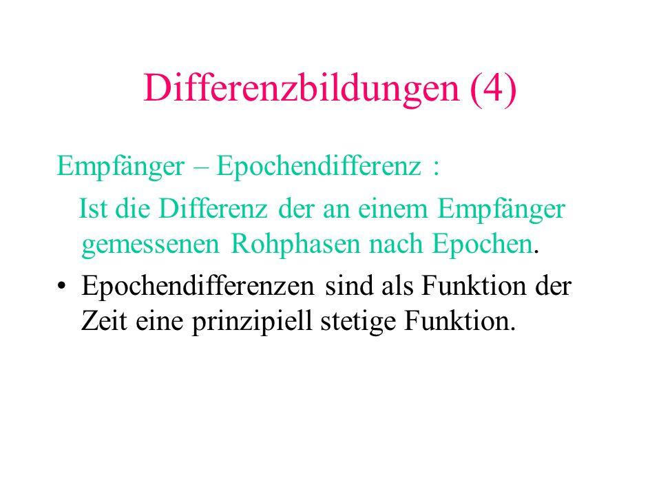 Differenzbildungen (4)