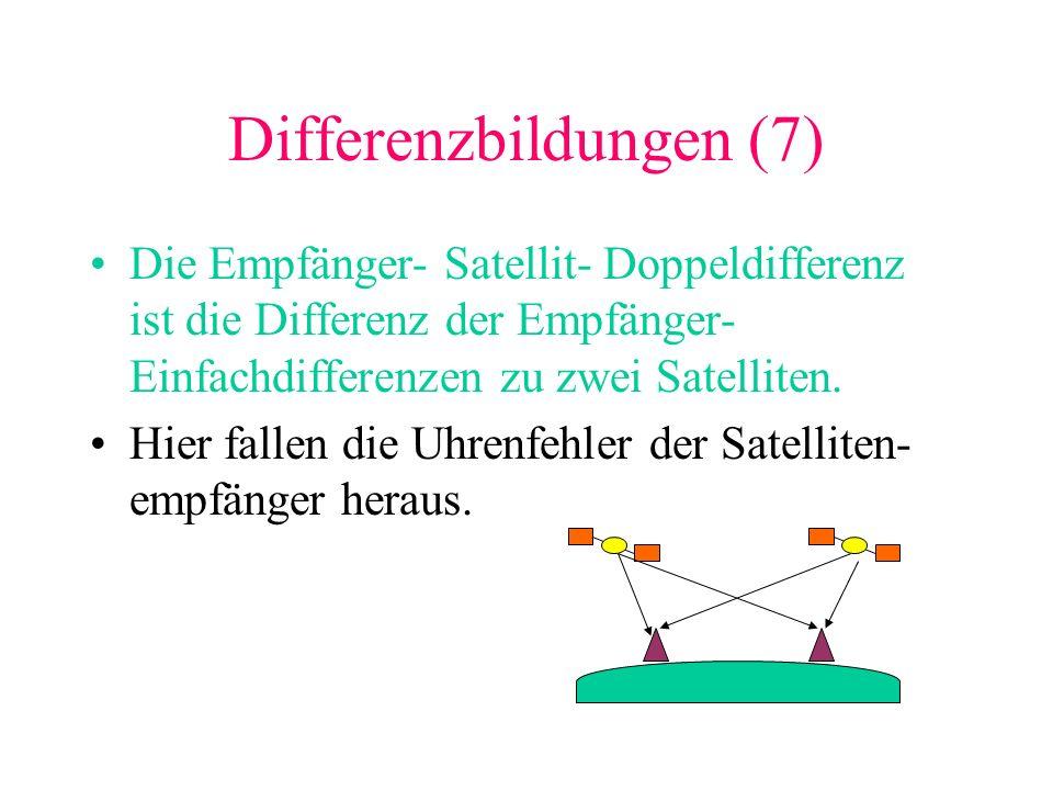 Differenzbildungen (7)