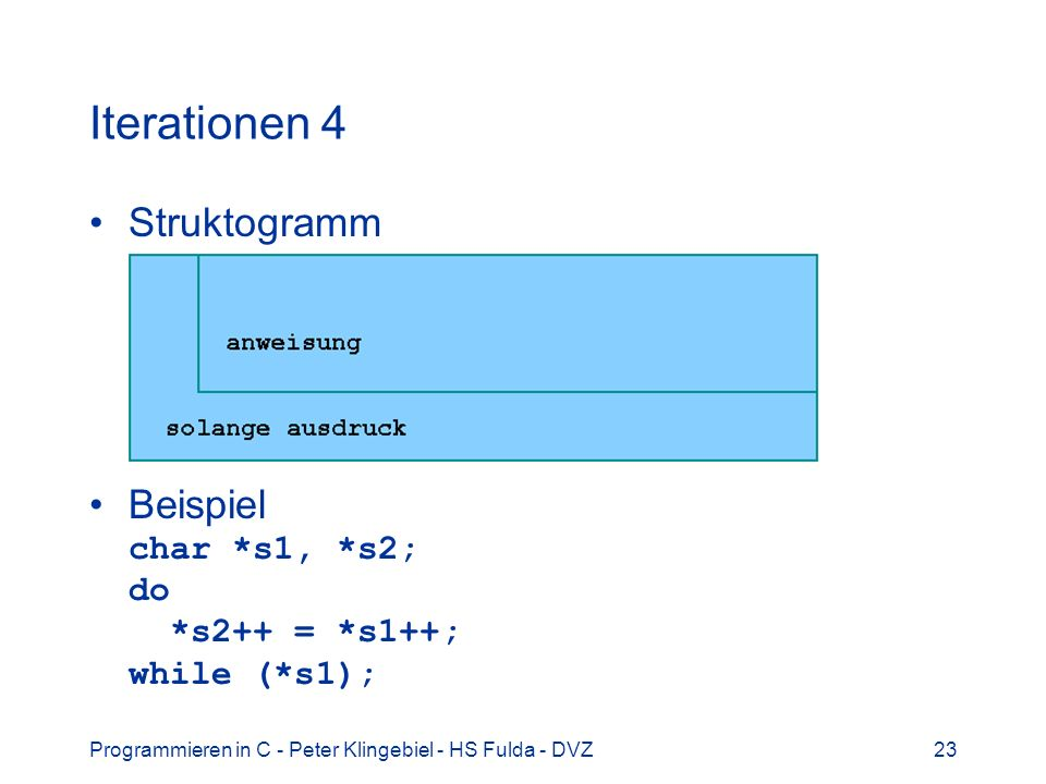 Iterationen 4 Struktogramm