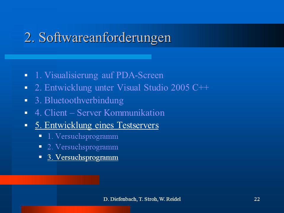 2. Softwareanforderungen