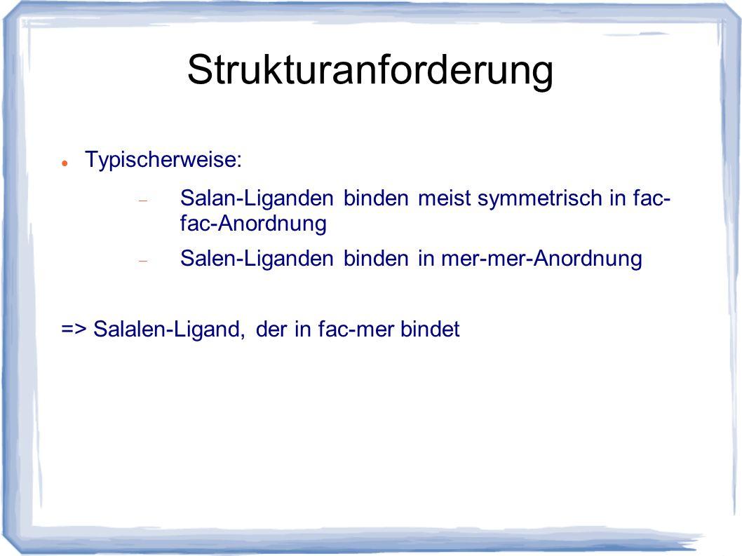 Strukturanforderung Typischerweise: