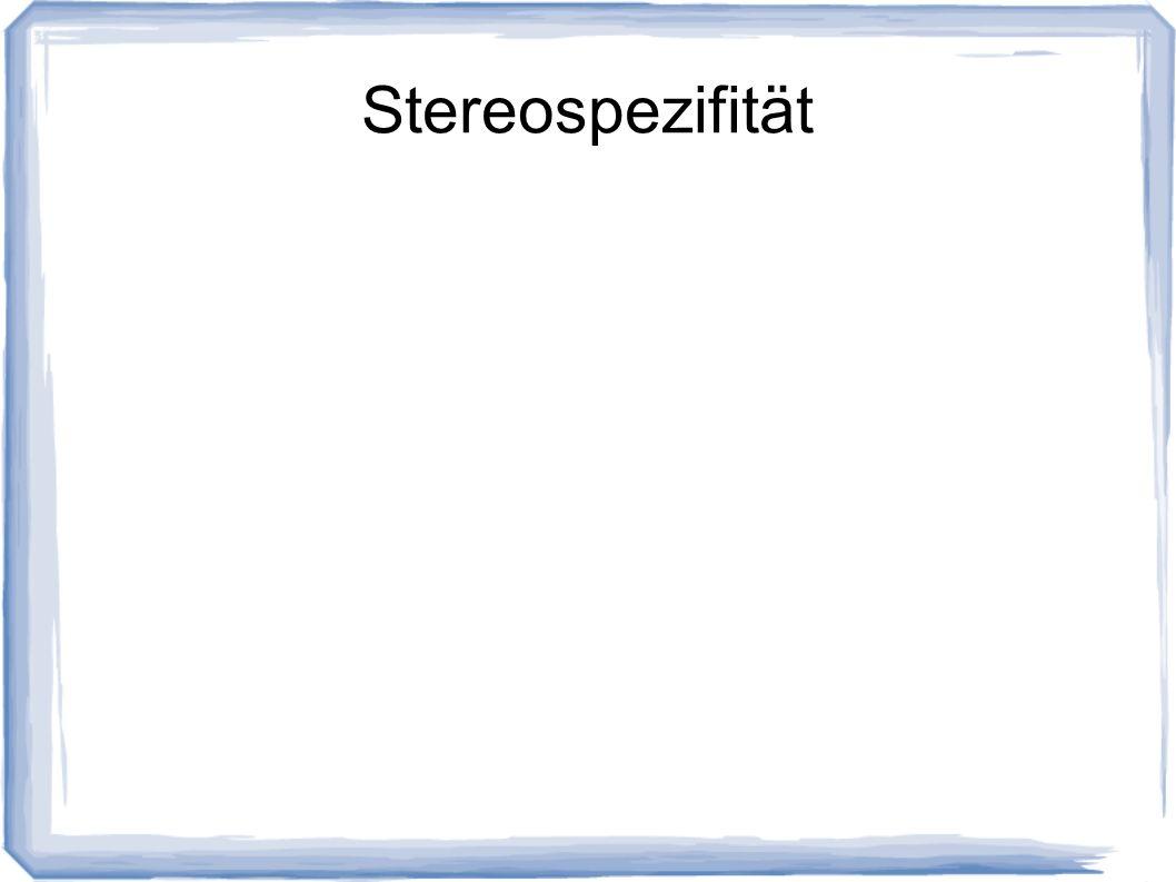Stereospezifität