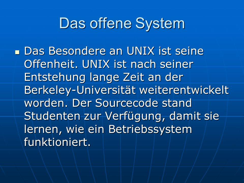 Das offene System