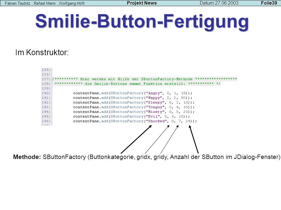Smilie-Button-Fertigung