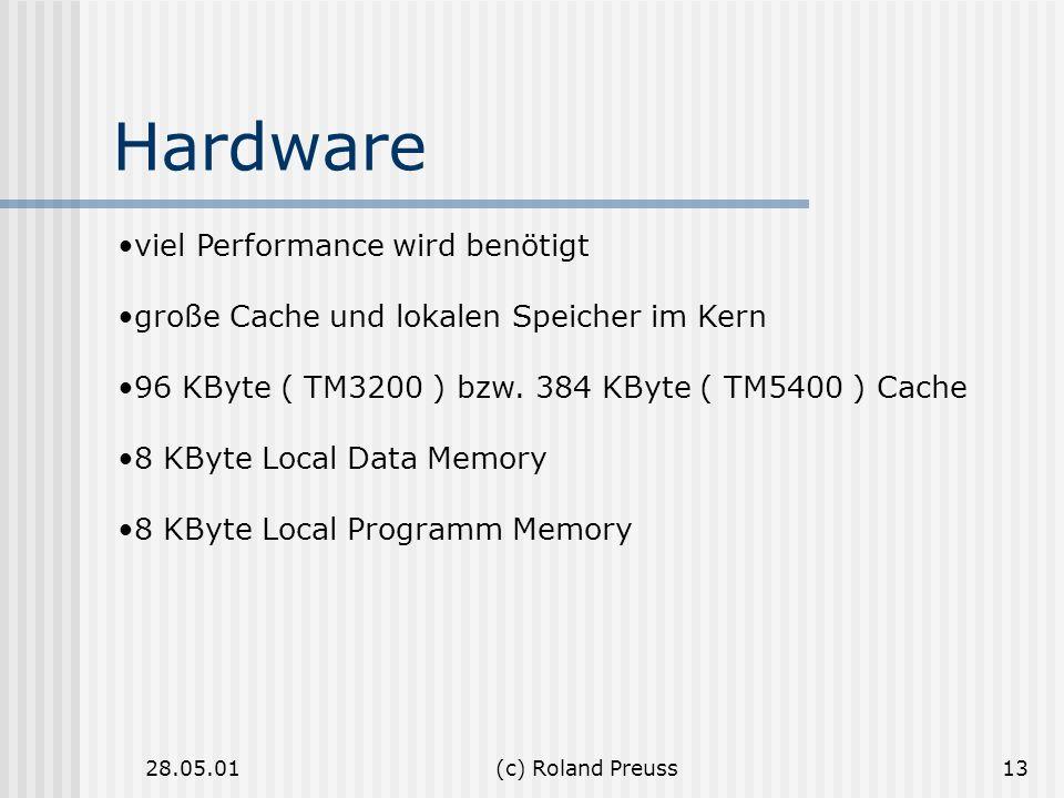Hardware viel Performance wird benötigt