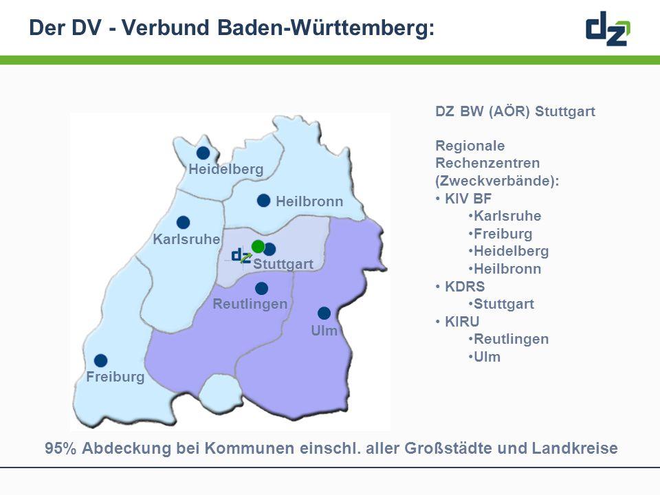 Der DV - Verbund Baden-Württemberg: