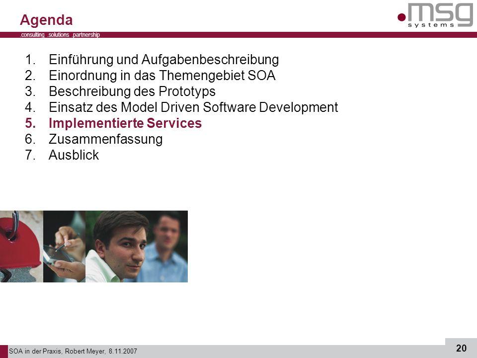 Agenda Einführung und Aufgabenbeschreibung