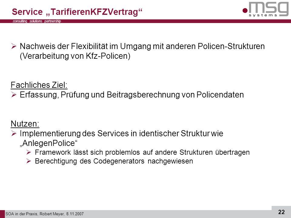 "Service ""TarifierenKFZVertrag"