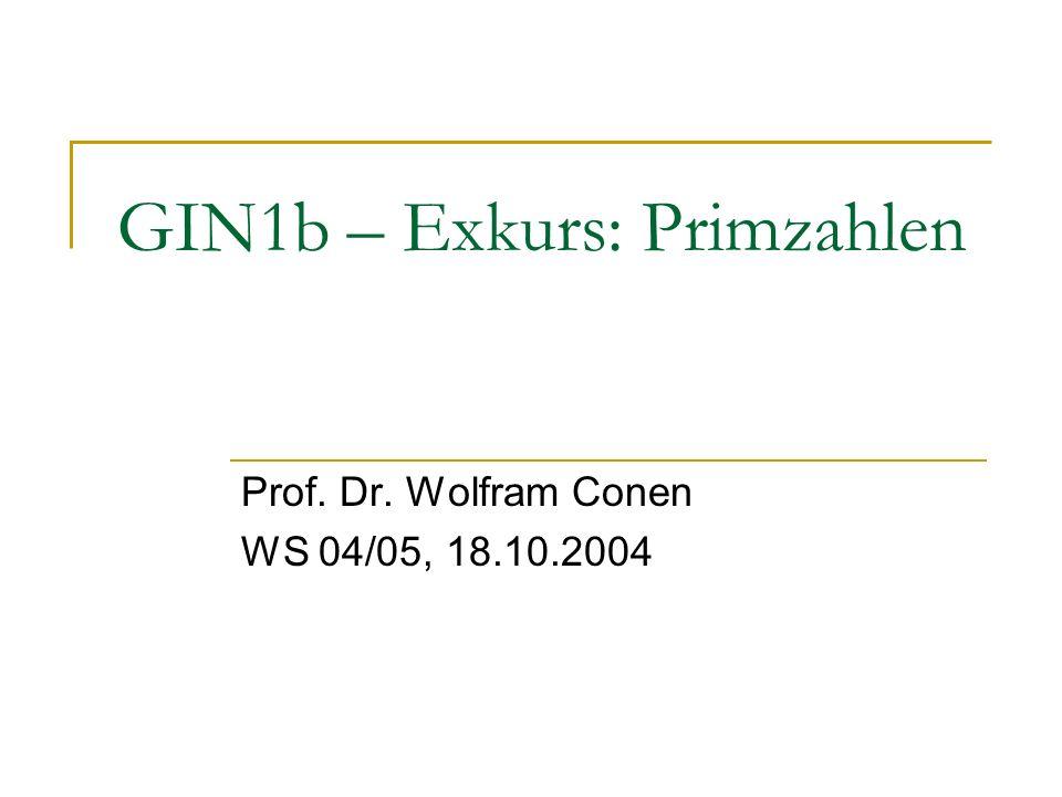 GIN1b – Exkurs: Primzahlen