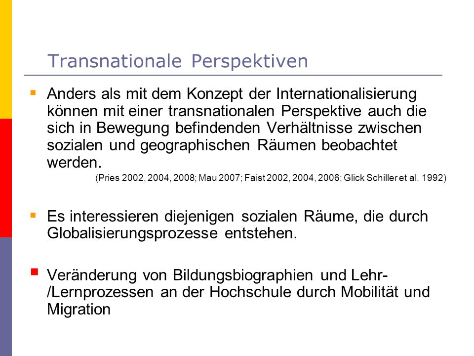 Transnationale Perspektiven