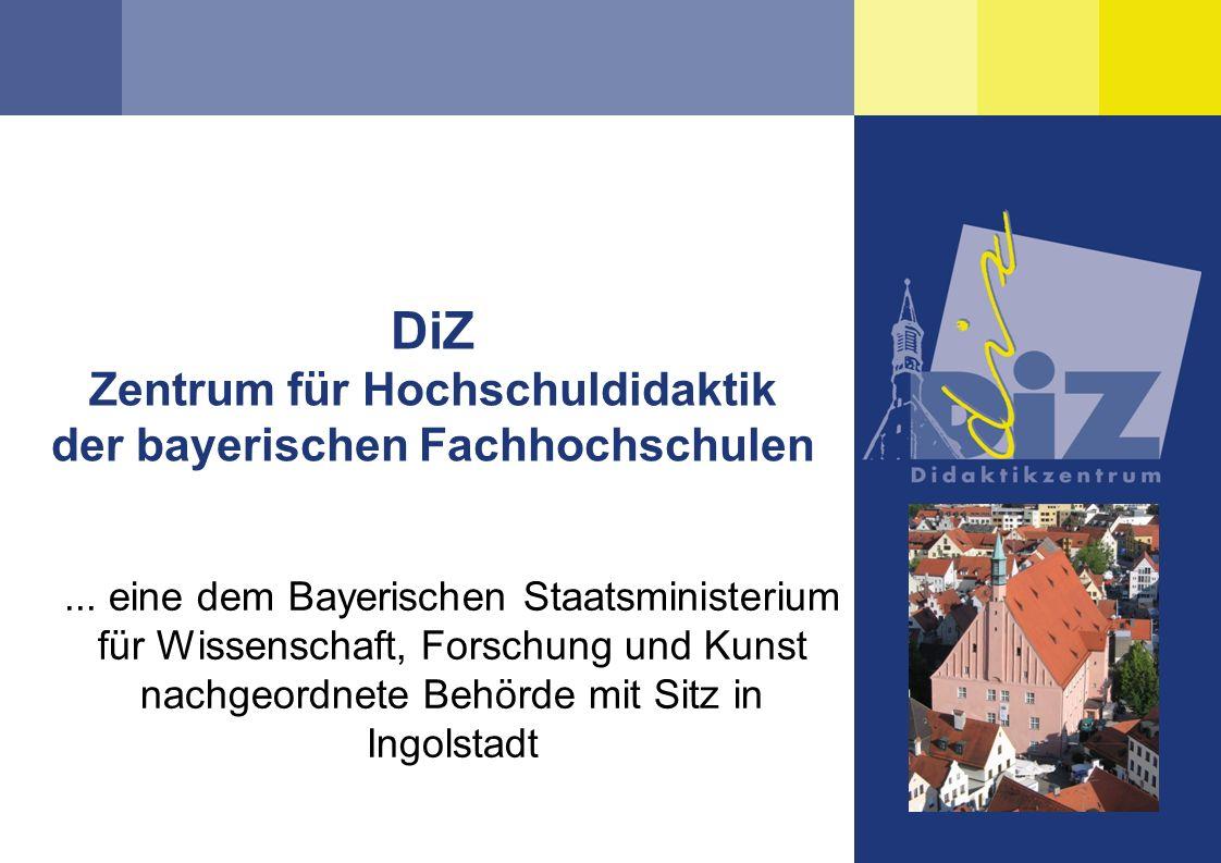 DiZ Zentrum für Hochschuldidaktik der bayerischen Fachhochschulen