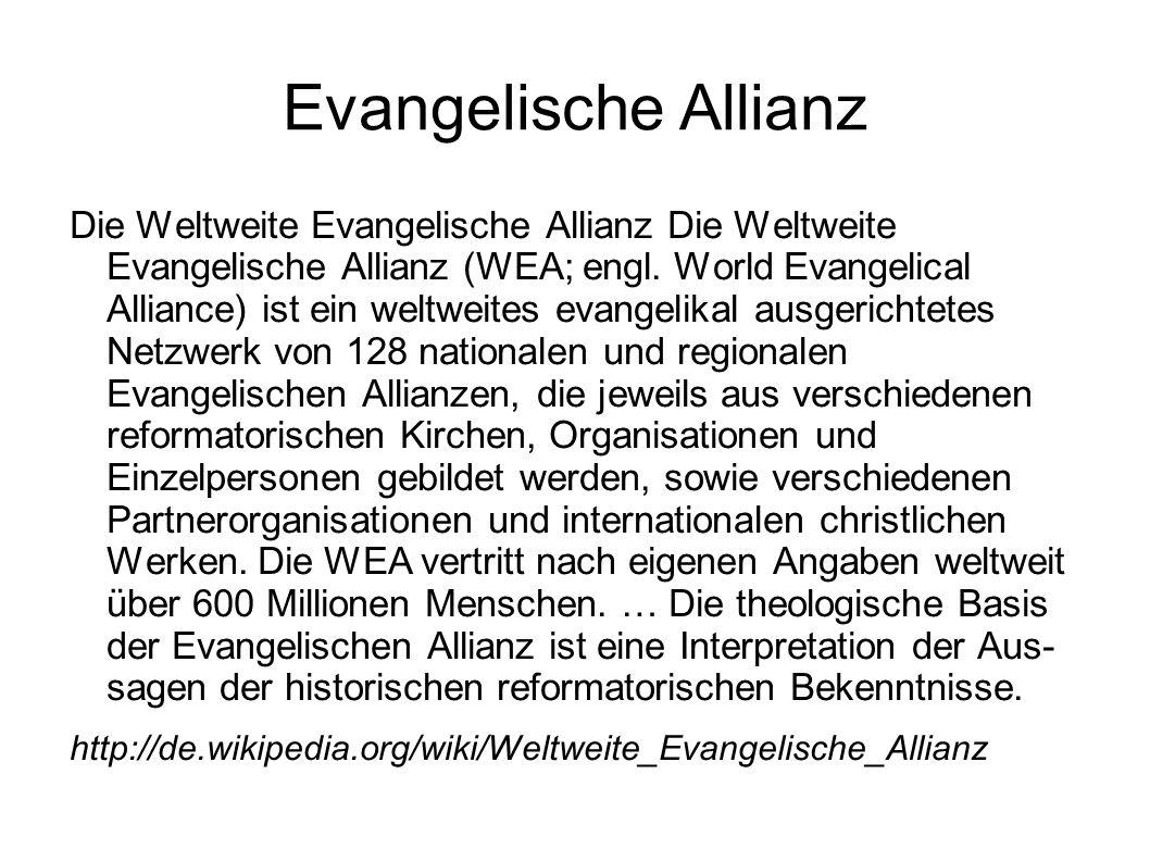 Evangelische Allianz