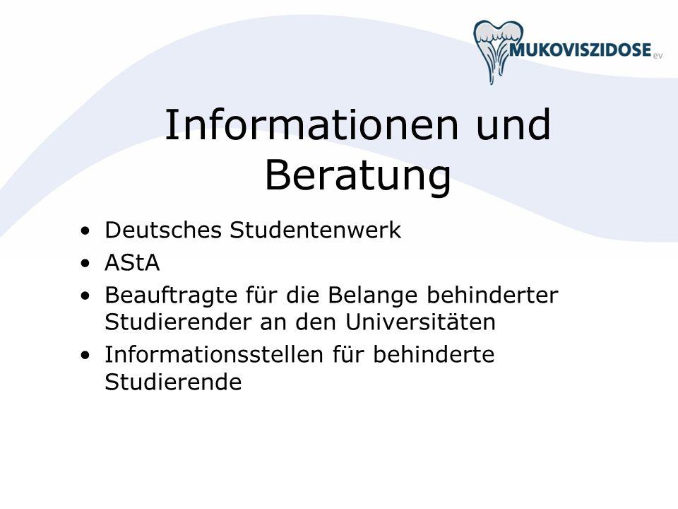Informationen und Beratung