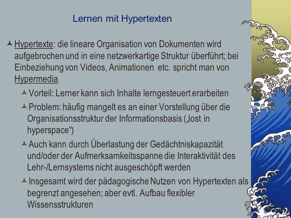 Lernen mit Hypertexten