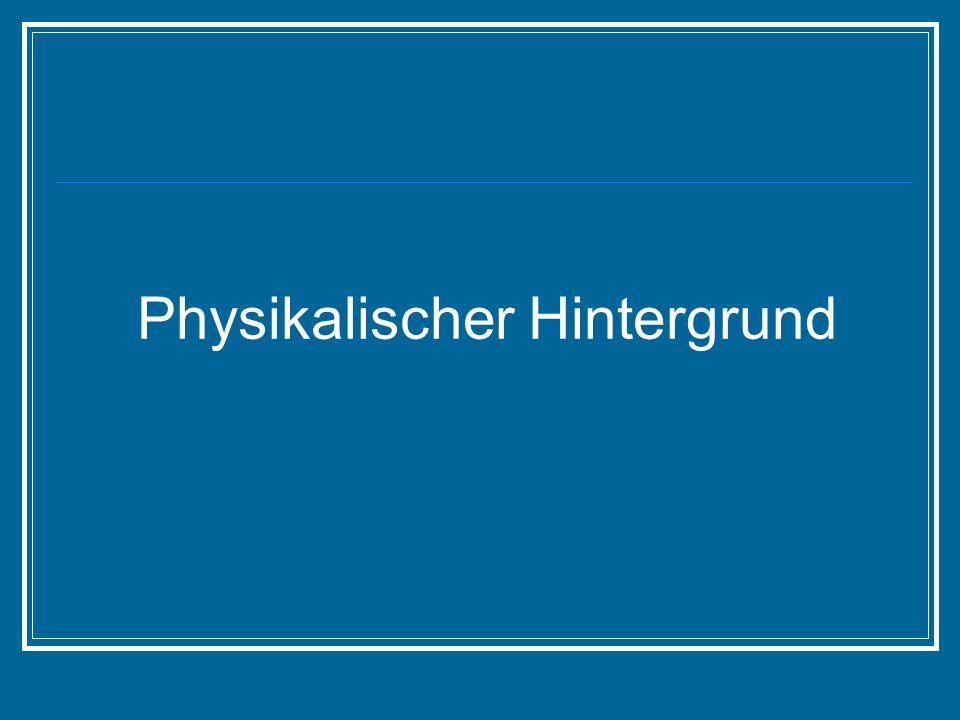 Physikalischer Hintergrund