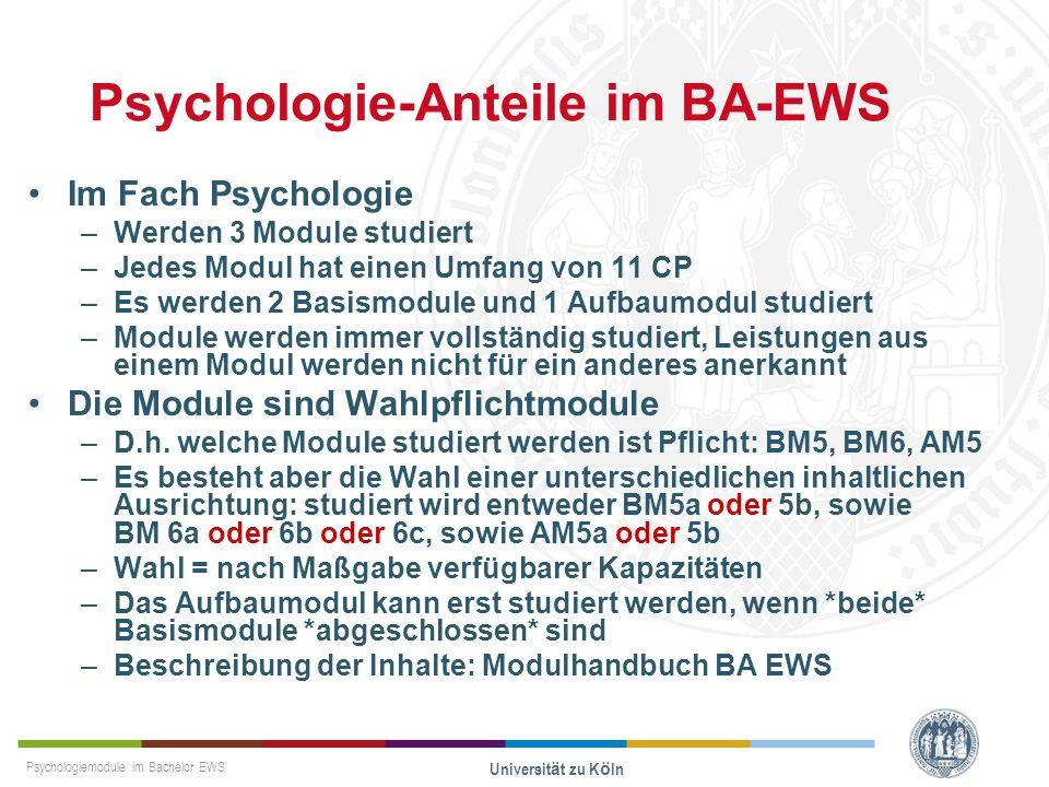 Psychologie-Anteile im BA-EWS