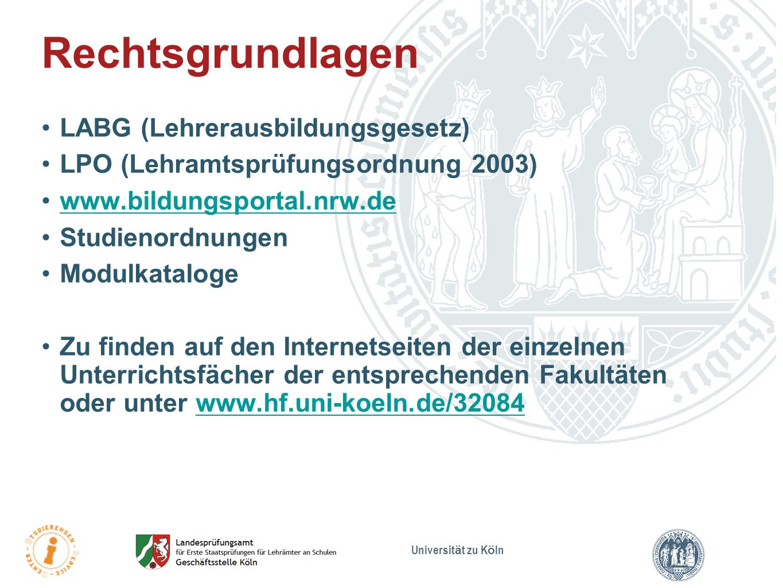 Rechtsgrundlagen LABG (Lehrerausbildungsgesetz)