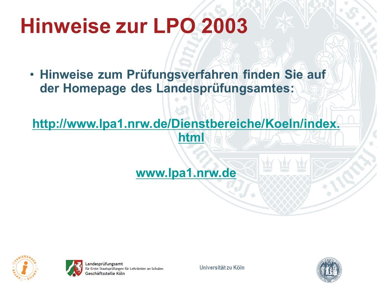 http://www.lpa1.nrw.de/Dienstbereiche/Koeln/index. html