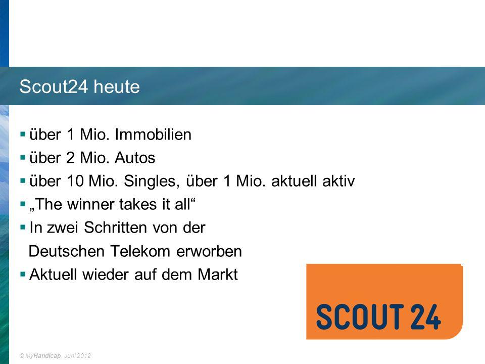 Scout24 heute über 1 Mio. Immobilien über 2 Mio. Autos