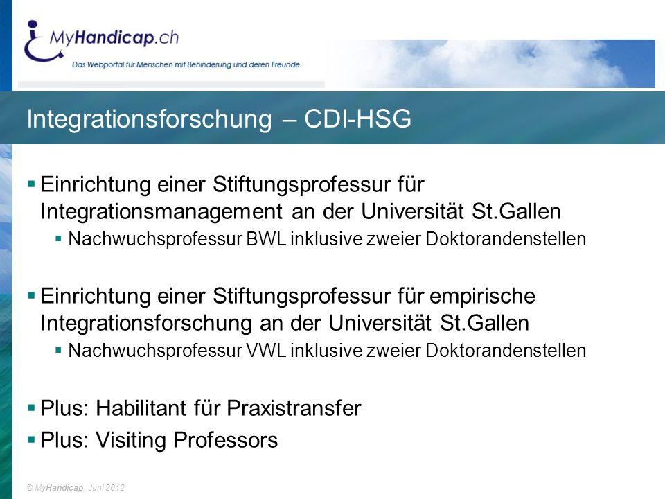 Integrationsforschung – CDI-HSG