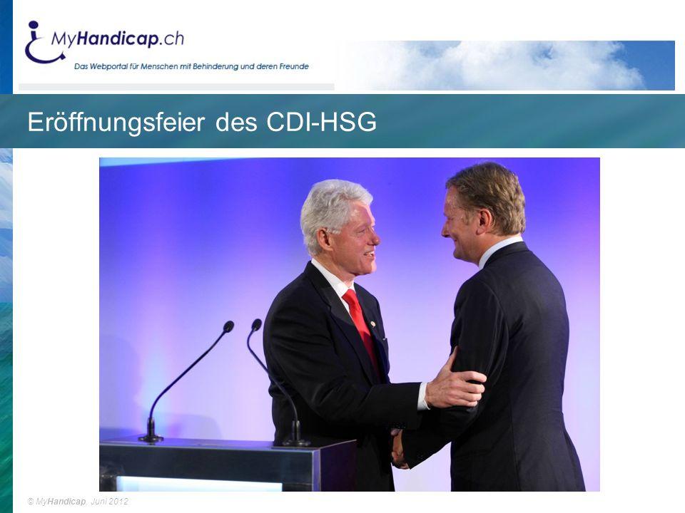 Eröffnungsfeier des CDI-HSG