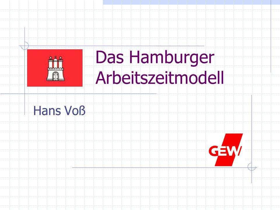 Das Hamburger Arbeitszeitmodell