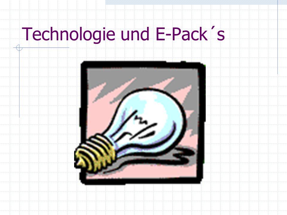 Technologie und E-Pack´s