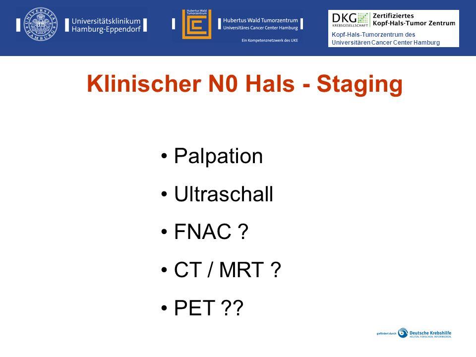 Klinischer N0 Hals - Staging