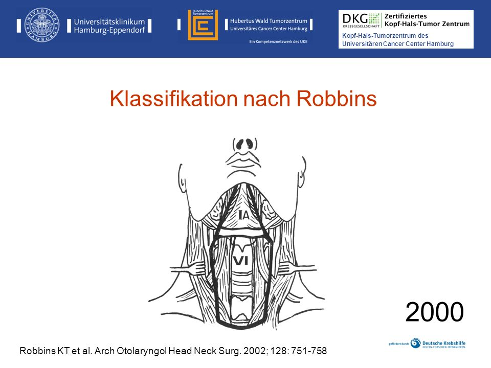 2000 Klassifikation nach Robbins