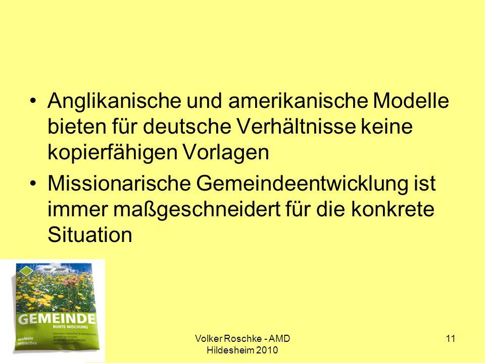 Volker Roschke - AMD Hildesheim 2010
