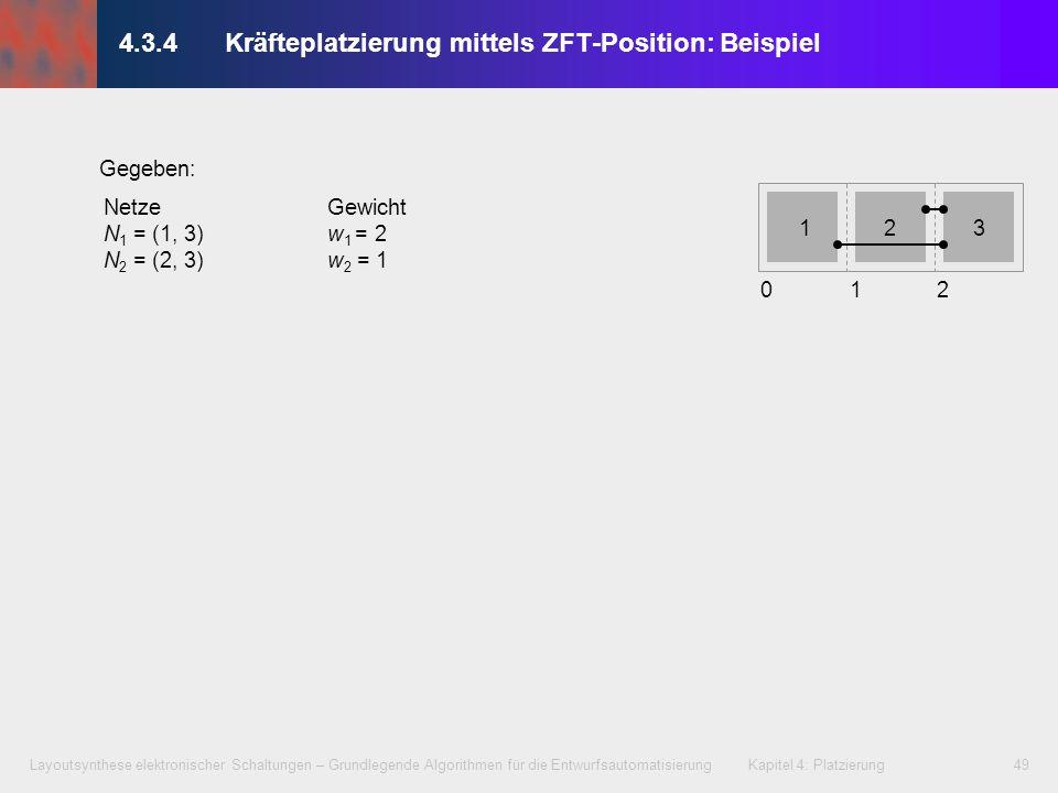 4.3.4 Kräfteplatzierung mittels ZFT-Position: Beispiel