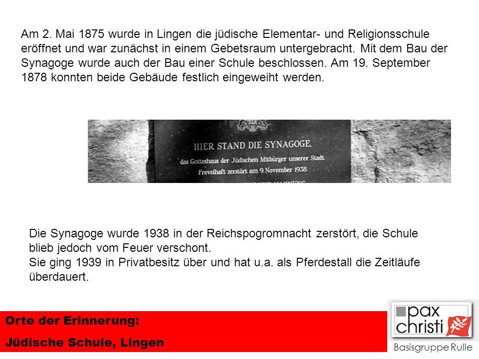 Jüdische Schule, Lingen