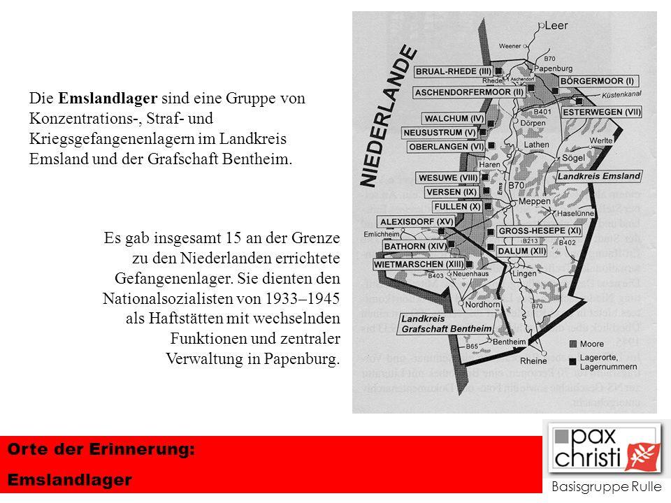 Die Emslandlager sind eine Gruppe von Konzentrations-, Straf- und Kriegsgefangenenlagern im Landkreis Emsland und der Grafschaft Bentheim.