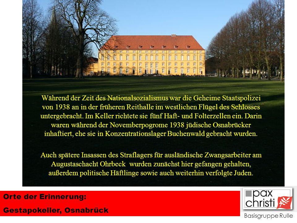 Gestapokeller, Osnabrück