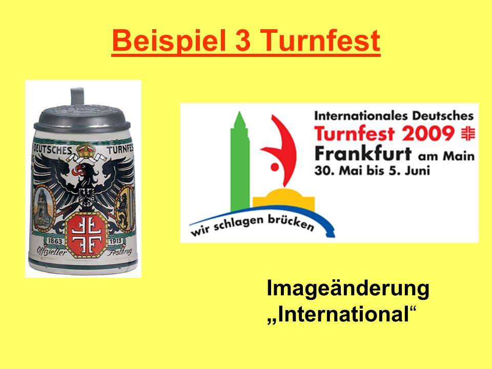 """Beispiel 3 Turnfest Imageänderung """"International"""