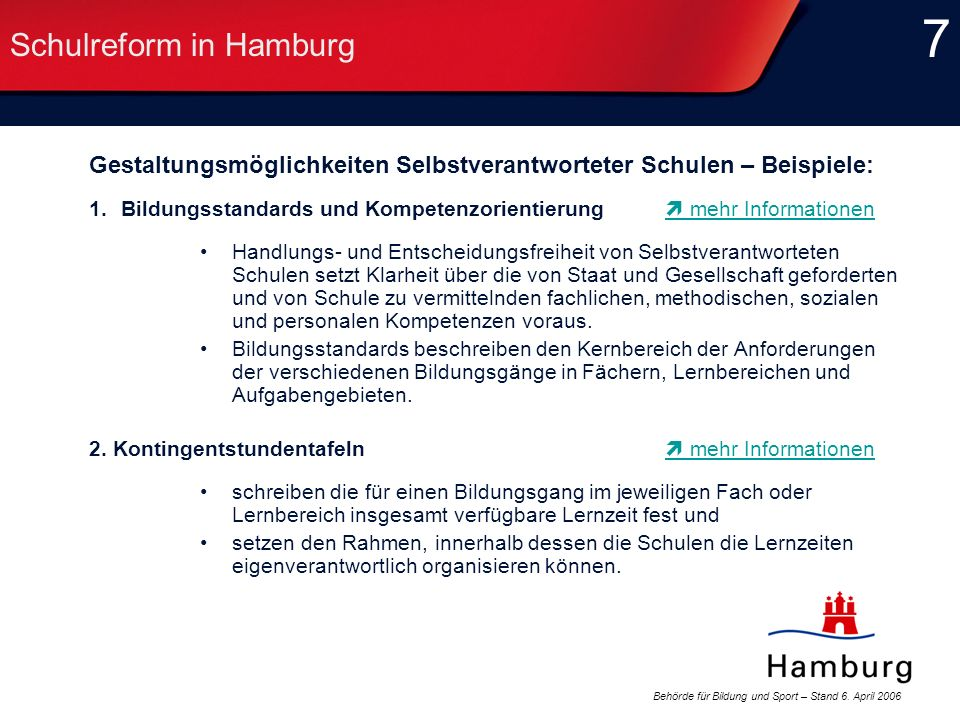 Schulreform in Hamburg