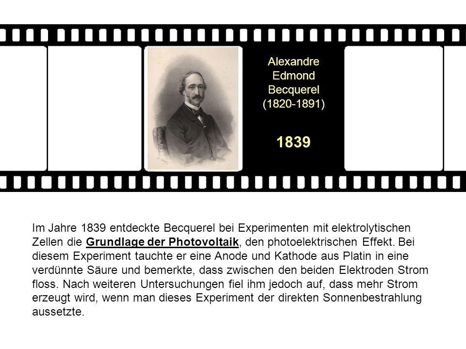 Alexandre Edmond Becquerel (1820-1891)