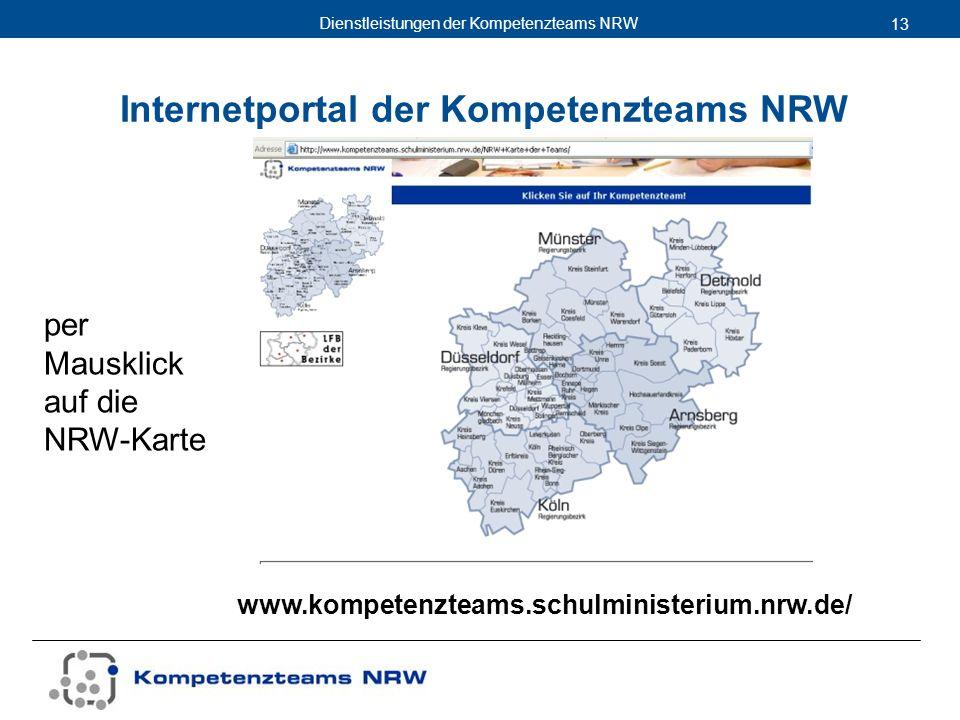 Internetportal der Kompetenzteams NRW