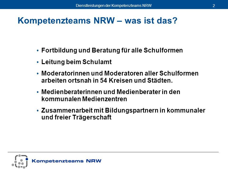 Kompetenzteams NRW – was ist das