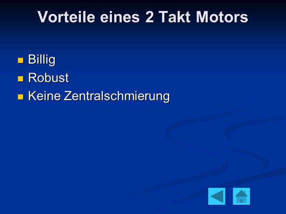 Vorteile eines 2 Takt Motors