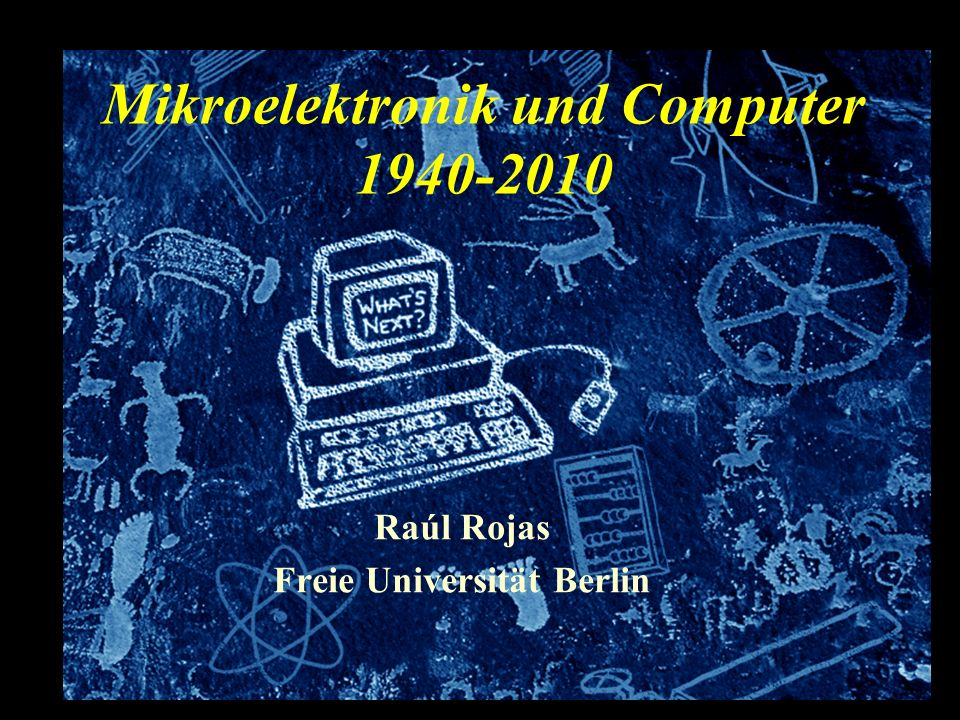 Mikroelektronik und Computer 1940-2010