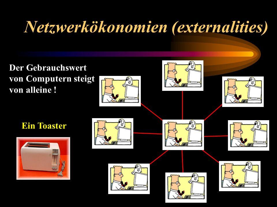 Netzwerkökonomien (externalities)