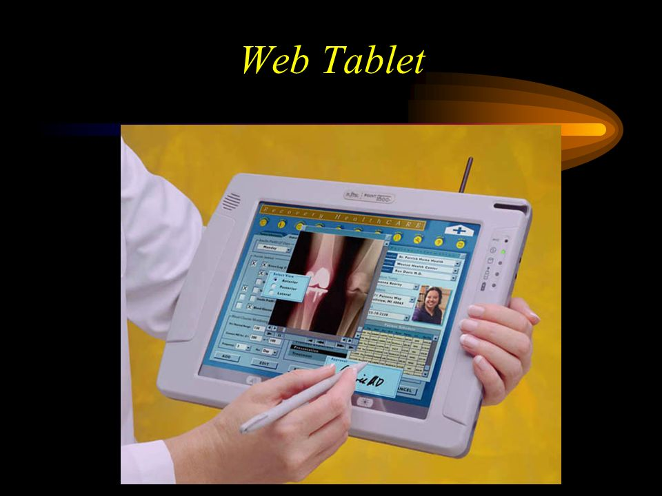 Web Tablet