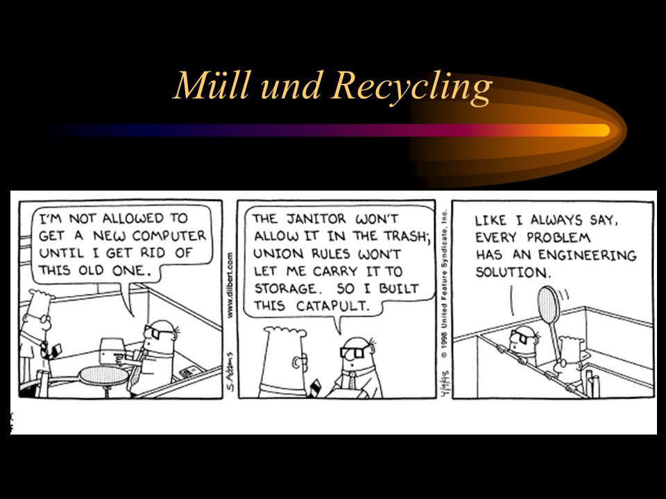 Müll und Recycling